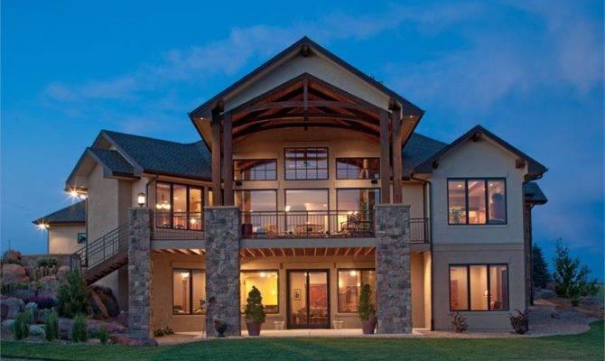 Luxury Craftsman Story House Plans Style