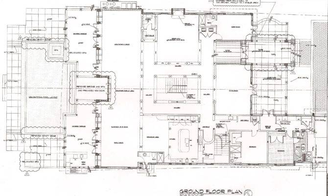 Luxury Estate Floor Plans