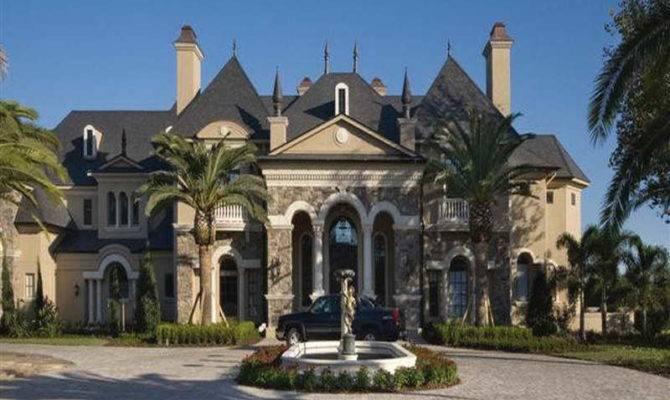 Luxury European Home Exterior Plans French