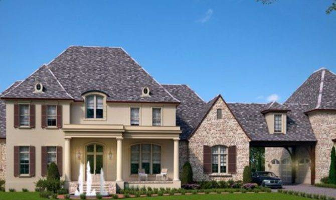 Luxury French Country House Plan