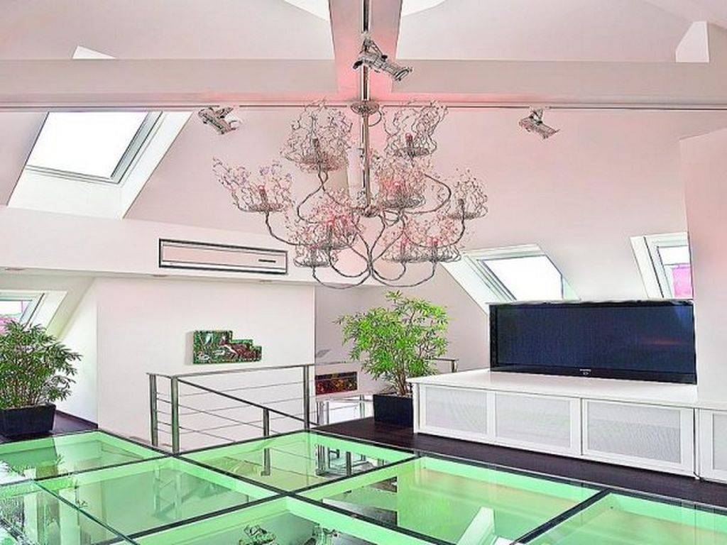 Luxury Glass Floor Tile Modern Interior Design Decobizz