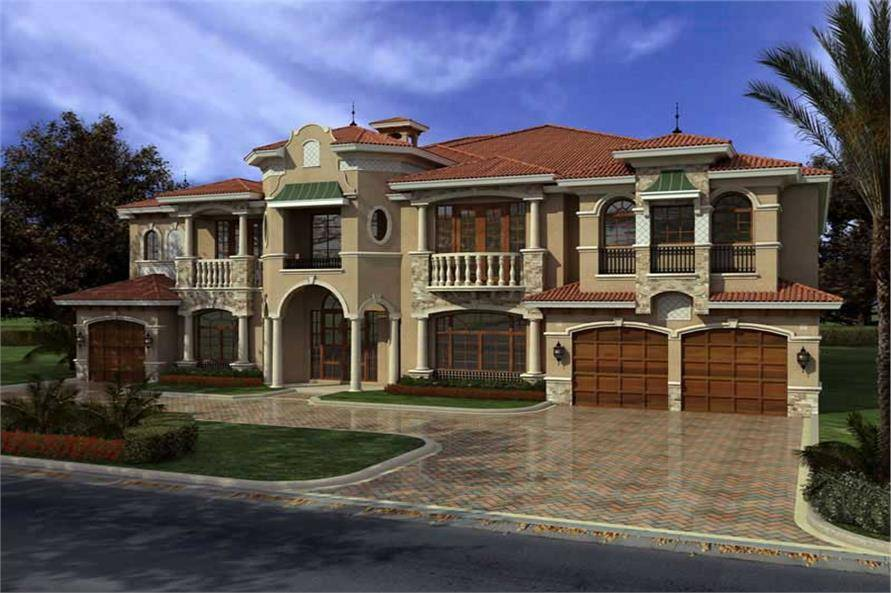 Luxury Home Bdrms House Plan