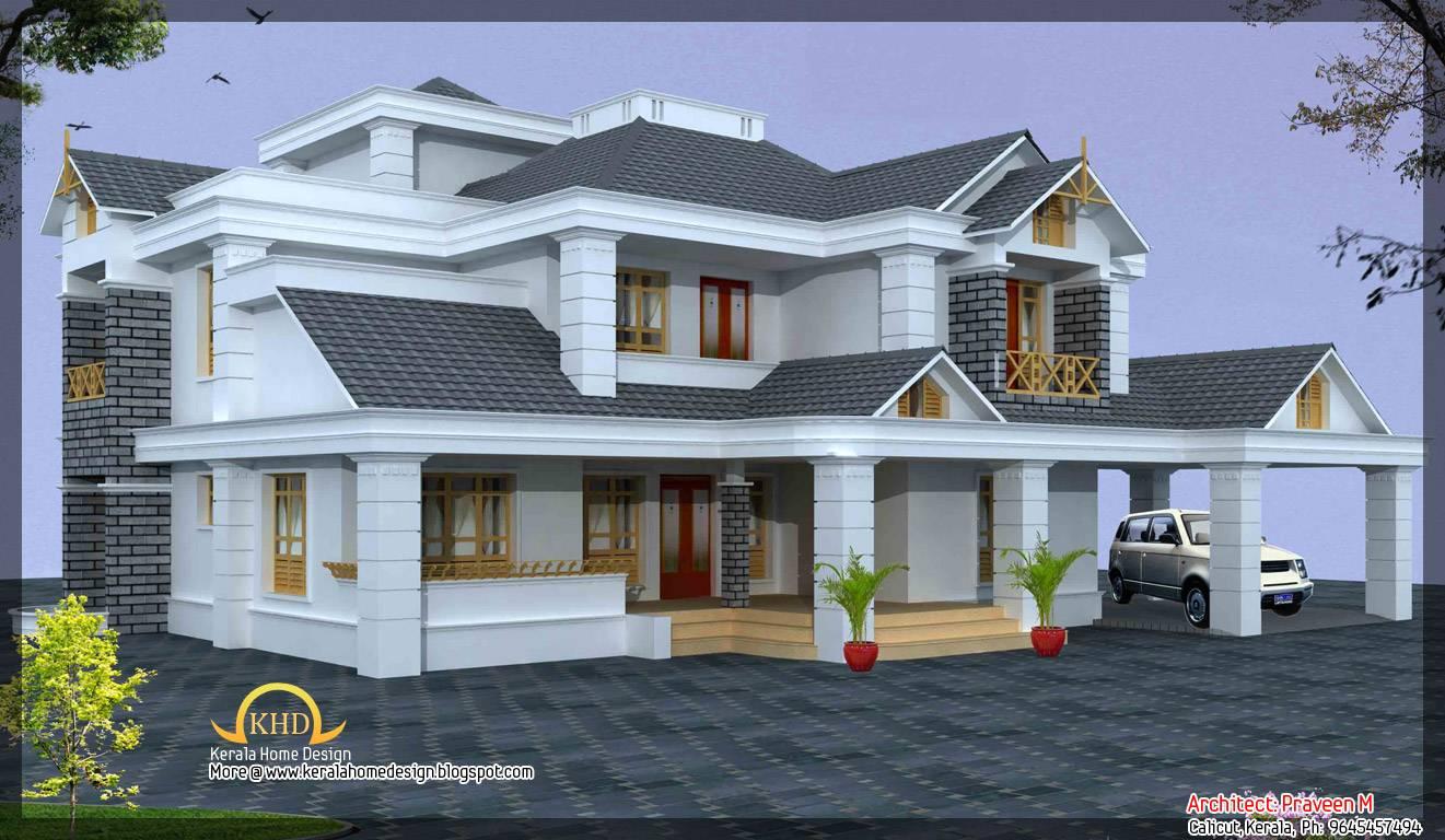Luxury Home Design Elevation Appliance