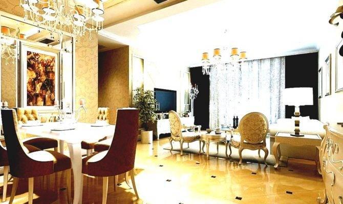 Luxury Home Interior Design Exquisite Romantic Decorations