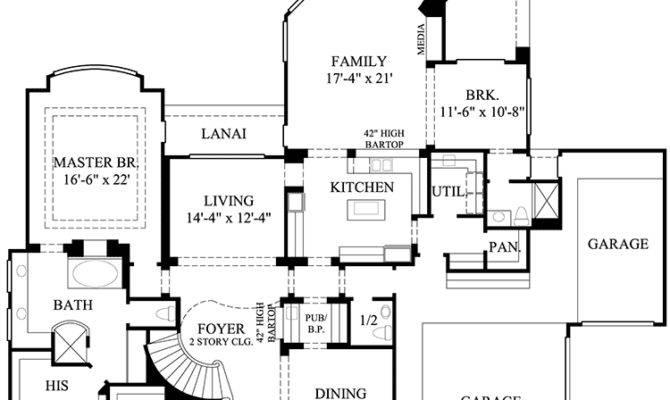 Luxury Home Plan Central Spiral Stair