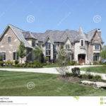 Luxury Home Stone Turret Photos