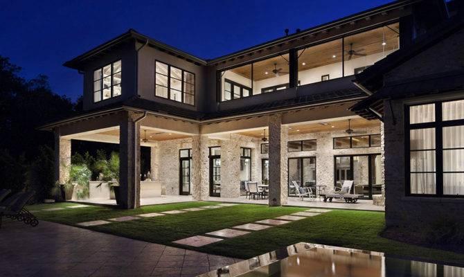 Luxury Home Texas Rustic Meets Modern