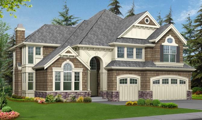 Luxury House Plans Modern Shingle Southern