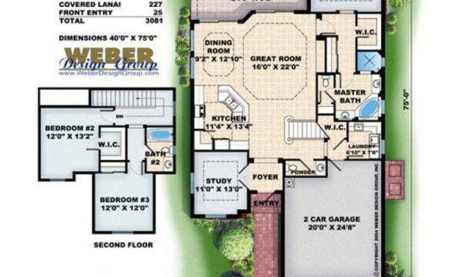 Luxury House Plans Narrow Lots Home Design Style