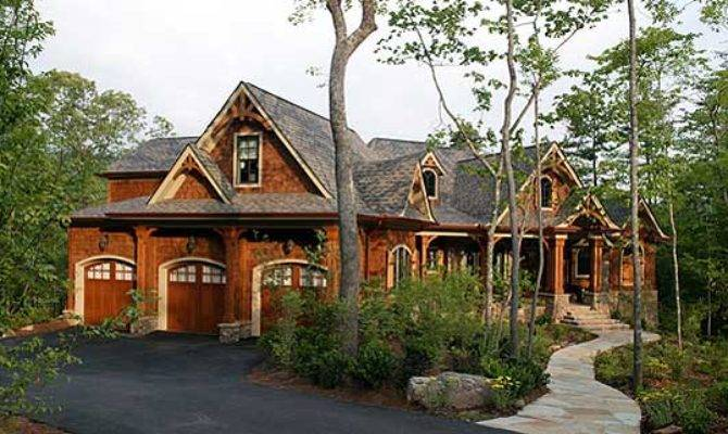 Luxury House Stunning Rustic Craftsman Home Plan