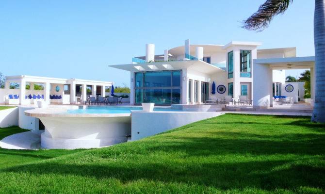 Luxury Houses Villas Hotels White Villa Design