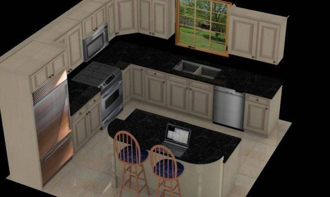 Luxury Kitchen Layout Island