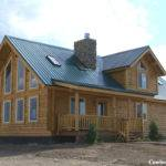 Luxury Log Homes Western Red Cedar Handcrafted
