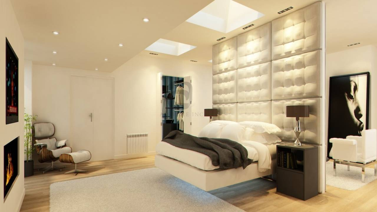 Luxury Master Bedroom Suite Modern
