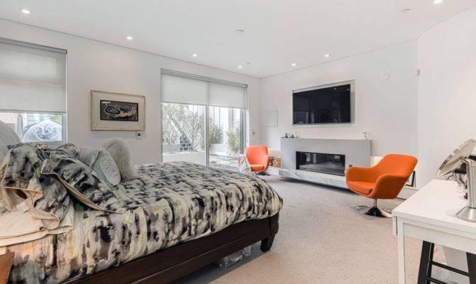 Luxury Master Bedrooms Fireplaces Designing Idea