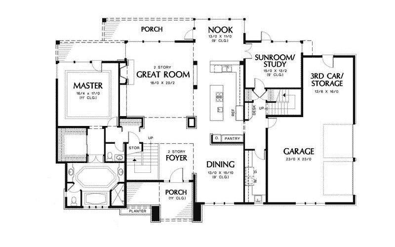 Luxury Modern House Floor Plans Inspirational