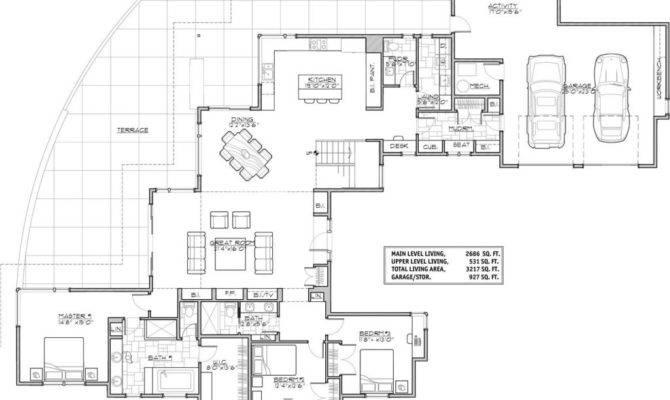 Luxury Modern House Floor Plans New Home Design