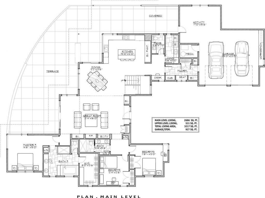 Luxury Modern House Floor Plans New Home Design