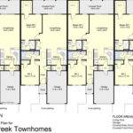 Luxury Plex Floor Plans Regard Townhouse