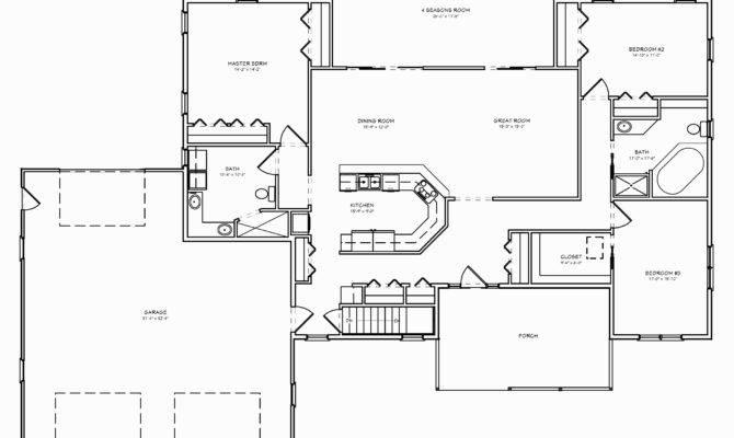 Luxury Ranch Home Floor Plans