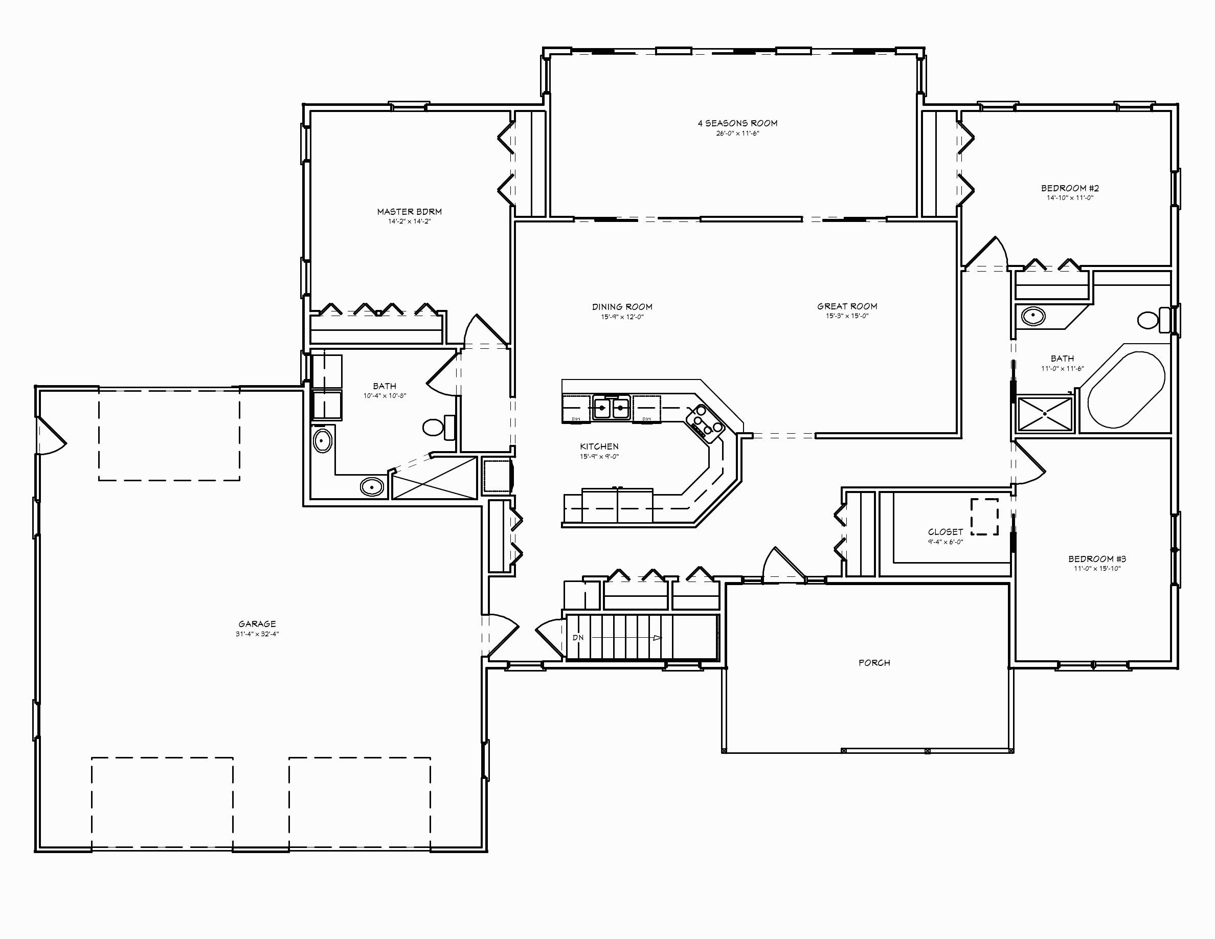 Luxury Ranch Home Floor Plans