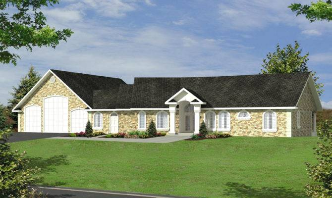 Luxury Ranch House Plans