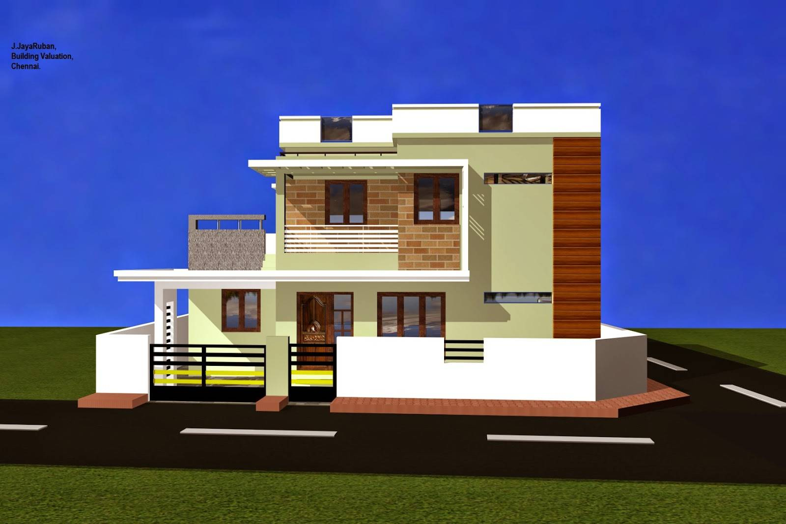 Luxury Residential Building Home House Villa