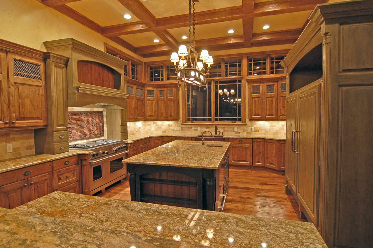 Luxury Shaped Kitchen Designs