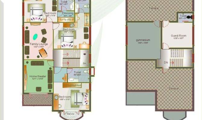 Luxury Spanish Villas Floor Plans Arab Arch