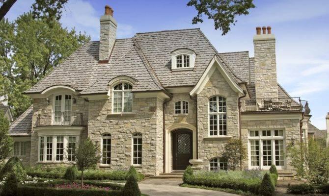 Luxury Stone House
