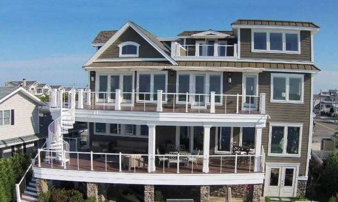 Luxury Story House Design Waterfront Designing Idea
