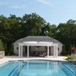 Luxury Vanishing Edge Pool Cabana Design Ideas Bergen County