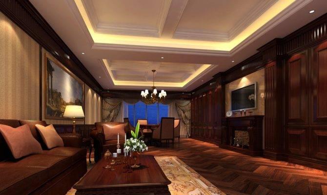 Luxury Villa Interiors British Living Room Interior Design