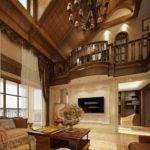Luxury Villas Wood Ceiling Design House
