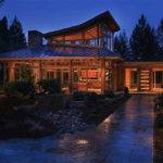 Luxury Wooden House Among Trees Allarchitecturedesigns