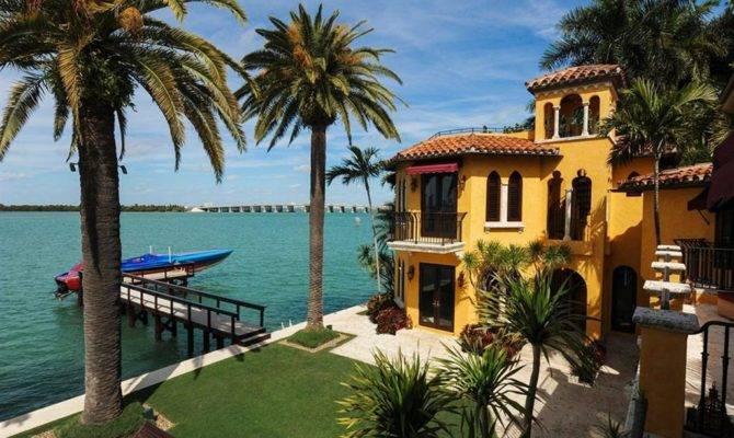 Luxus Anwesen Villa Jasmine Ufer Von Miami Beach