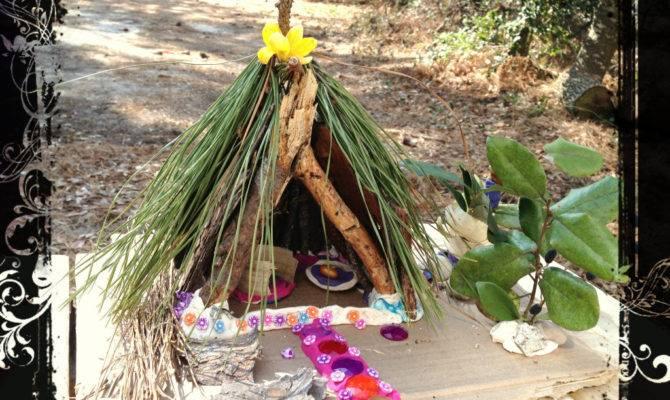 Make Fairy House Natural Materials Parents Kids