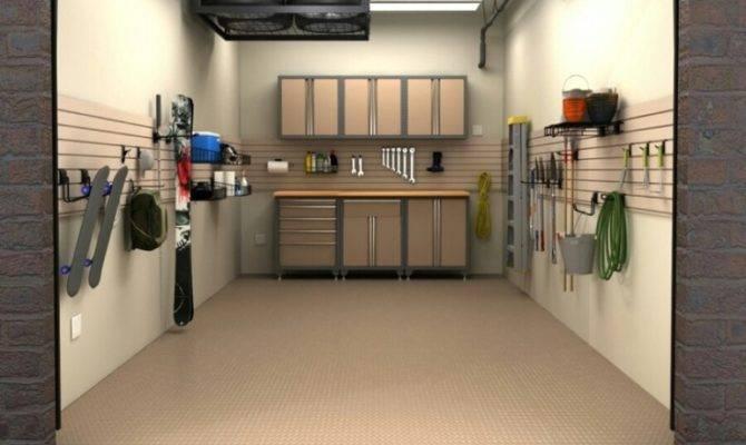Make Look Like More Garage Basement Ideas