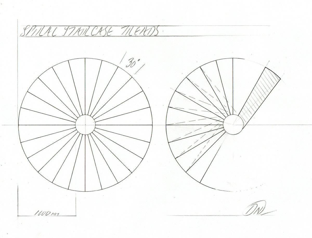 Making Model Spiral Staircase Davidneat