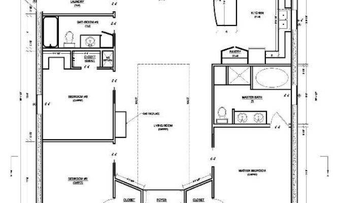 Making Simple House Plan Interesting Efficient