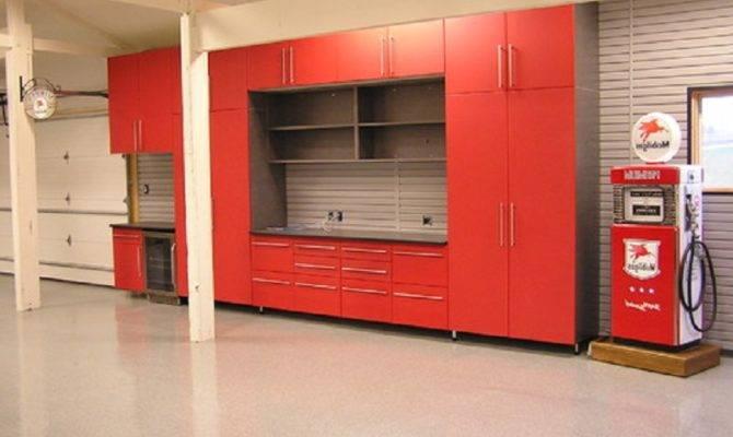 Man Cave Garage Designs Horeb Cabinets Storage