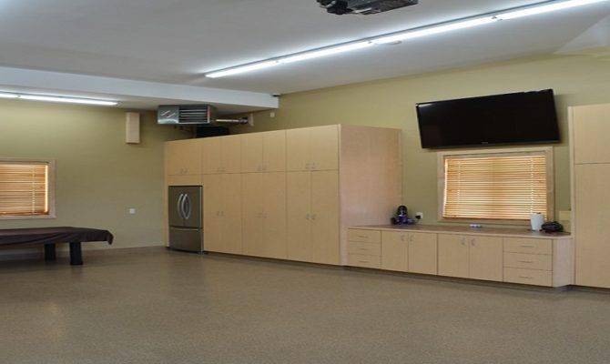 Man Cave Garage Designs Refrigerator Plans