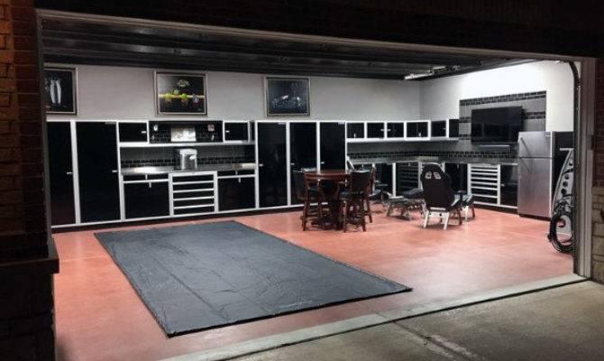 Man Cave Garage Ideas Modern Industrial Designs