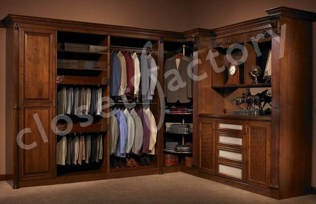 Man European Closet Traditional Los Angeles