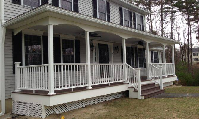 Manchester Front Porch Complete Allen Remodeling
