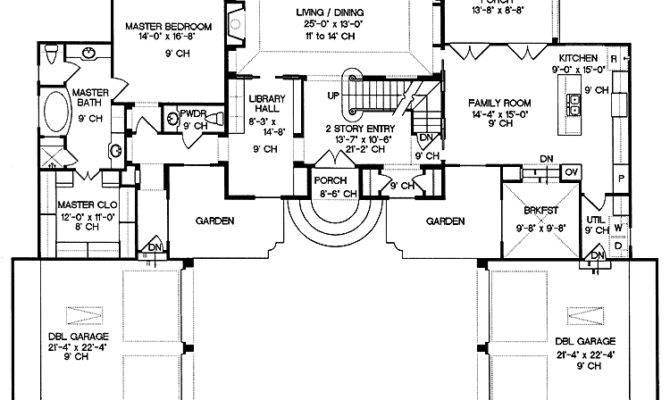 Mansion Blueprints House Plans