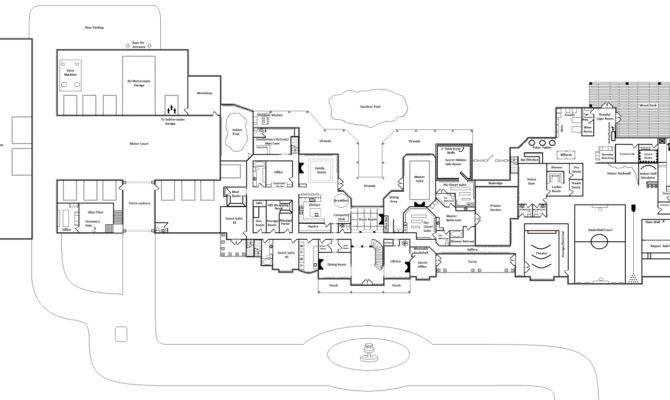 Mansion Floor Plans Homes Rich Real Estate Blog