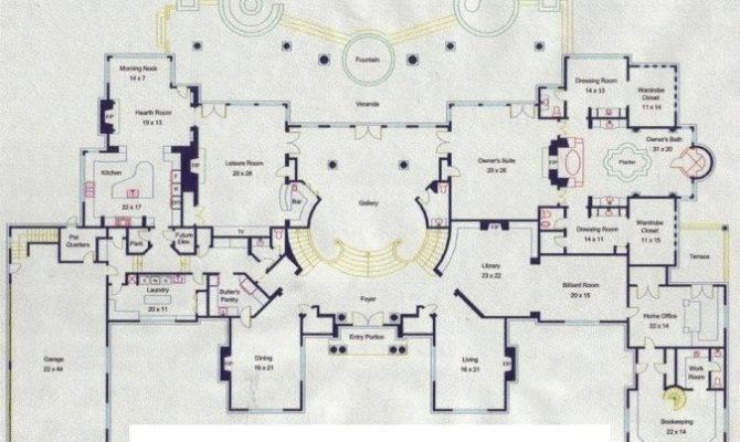 Mansion Floor Plans Lake Austin Floorplans