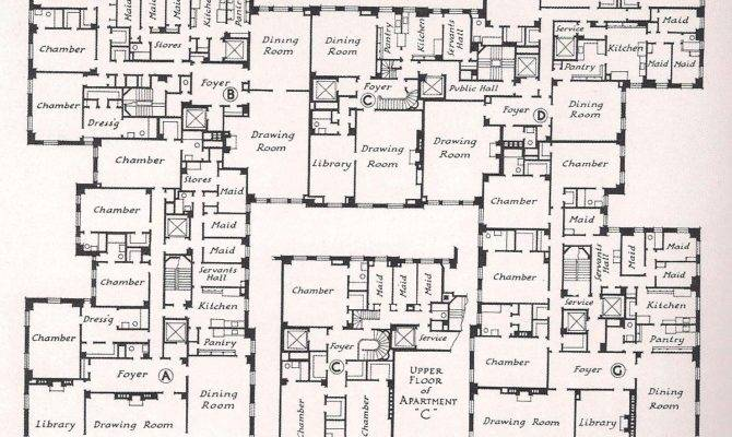Mansion Floor Plans Ottershaw Park Architects