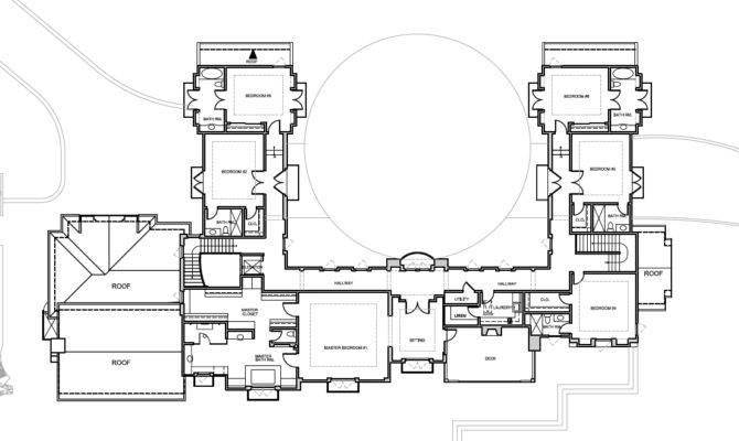 Mansion Floor Plans Ralston Avenue Hillsborough California